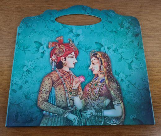 envelope luxo Radha e Krishna
