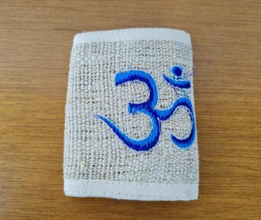 carteira indiana de cânhamo