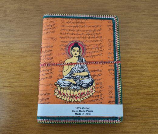 caderno indiano de Buda