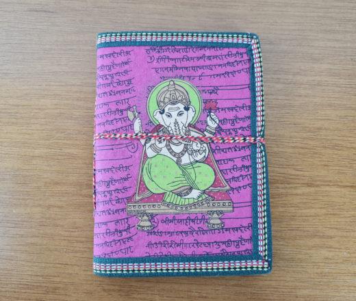 caderno indiano de Ganesha