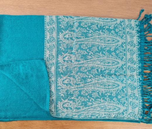 lenço indiano verde