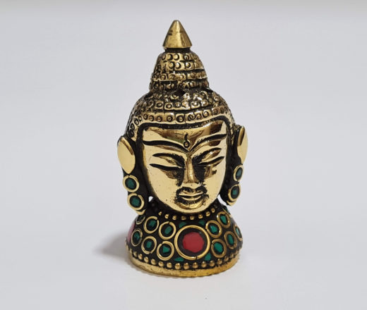 incensário de Buda com pedras naturais