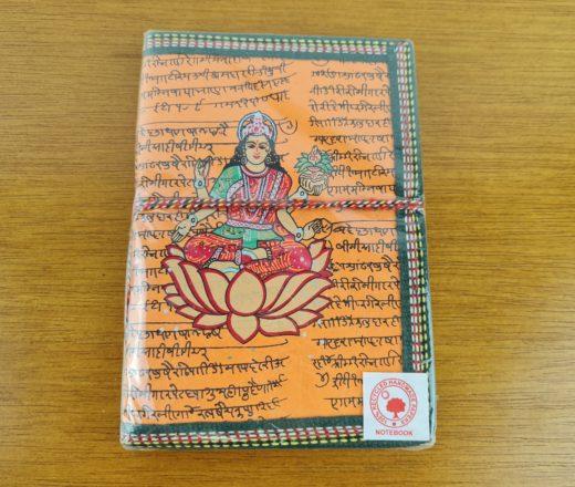 caderno de Lakshmi indiano
