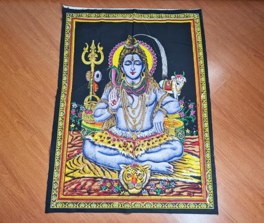Painel de tecido de Shiva