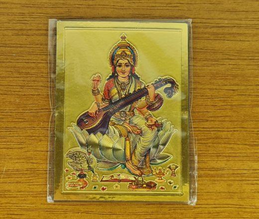 ímã de geladeira de Saraswati