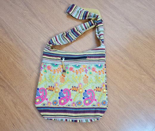 bolsa saco indiana alça longa