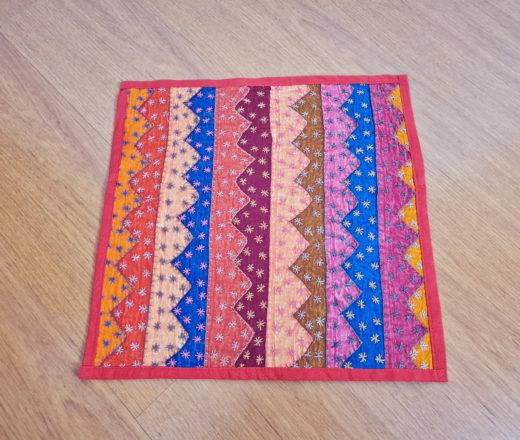 capa de almofada indiana