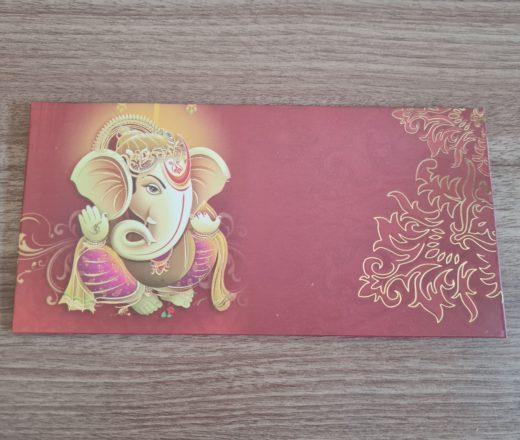 envelope comemorativo de Ganesha