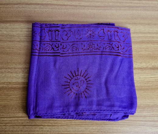 chadar de oração de algodão com estampa de Ganesha