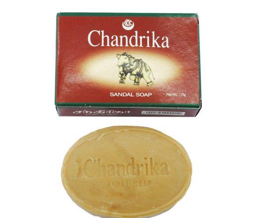 sabonete Chandrika de Sândalo feito na Índia