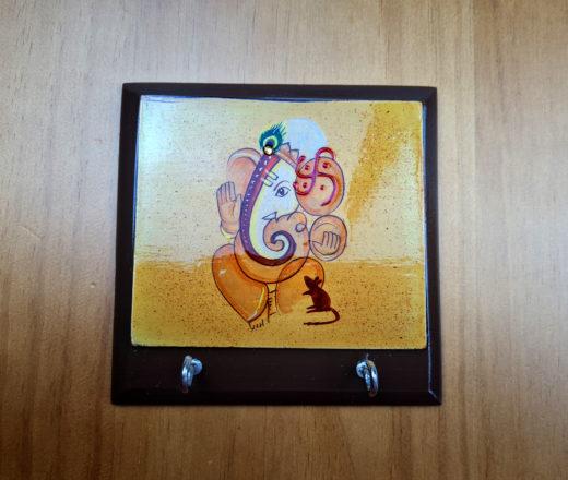porta chaves de Ganesha