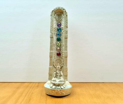 incensário de Buda com 7 chakras