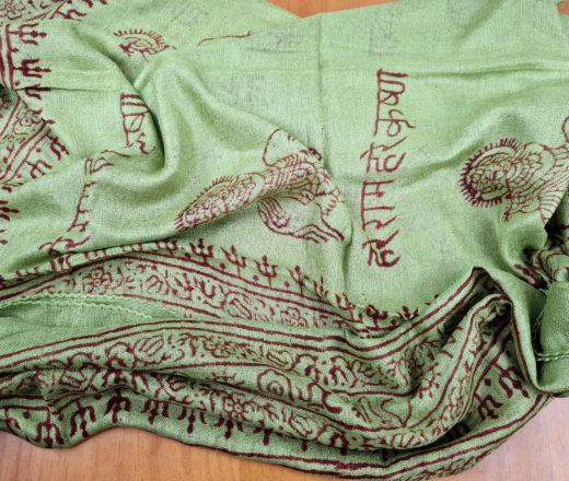 chadar de oração de Krishna (manto Harinama)