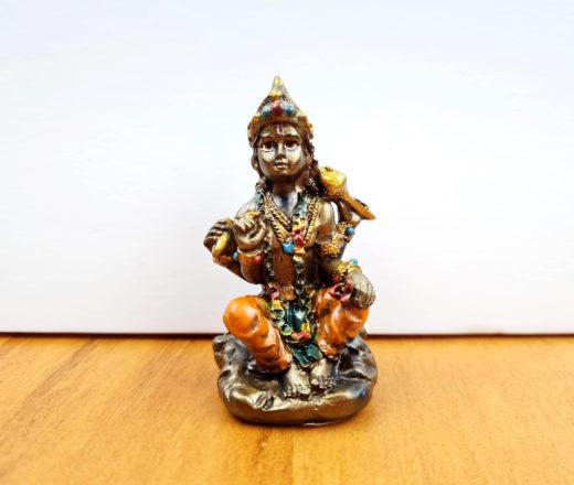 Vishnu estátua pequena