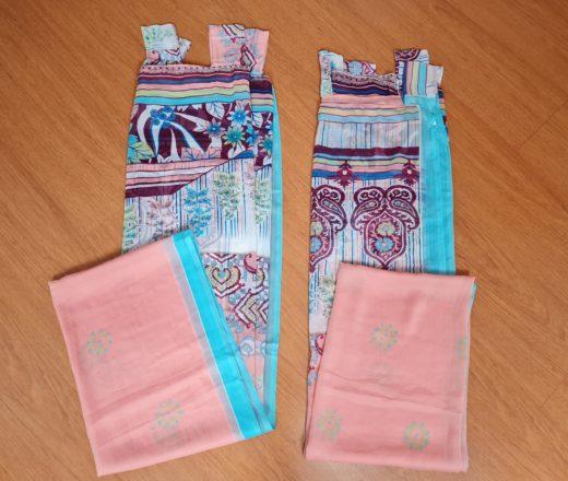 cortinas de sari indiano
