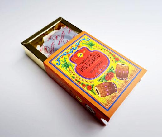 Incenso cone premium Golden India aroma Palo Santo